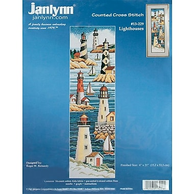 Lighthouses Counted Cross Stitch Kit, 6
