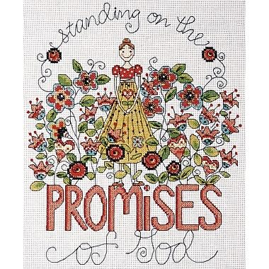 Heartfelt Promises Counted Cross Stitch Kit, 8