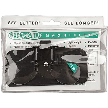 Magni-Clips Magnifiers, +1.00 Magnification