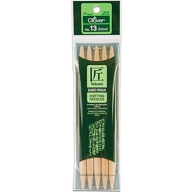 Takumi Bamboo Double Point Knitting Needles 7
