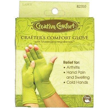 Creative Comfort Crafter's Comfort Glove, Large