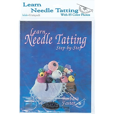 Learn Needle Tatting Step by Step Kit
