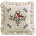 Birds And Berries Candlewicking Embroidery Kit, 14in.X14in.