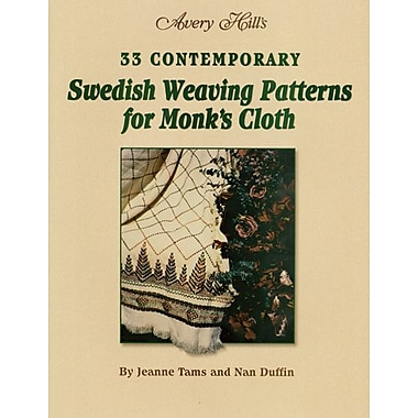 Avery Hill, Swedish Weaving Patterns For Monks Cloth