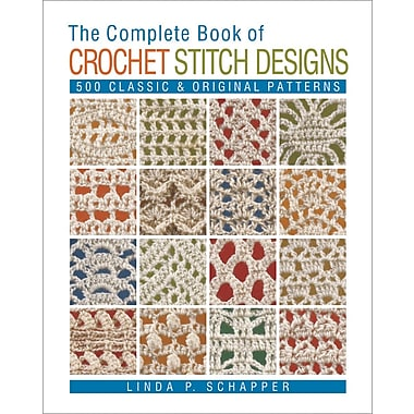 Complete Book Of Crochet Stitch Designs