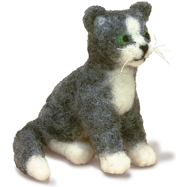 Feltworks Little Felted Characters, Cat