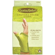 Creative Comfort Crafter's Thumb Glove, Medium