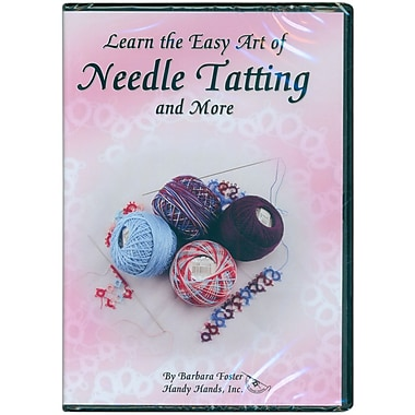 Learn The Easy Art of Needle Tatting DVD