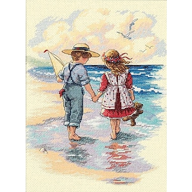 Holding Hands Counted Cross Stitch Kit, 9