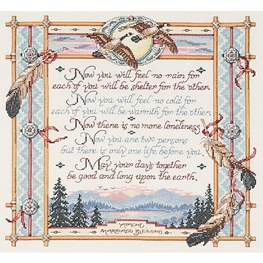 Apache Wedding Blessing Counted Cross Stitch Kit, 15