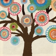 "Handmade Collection Tree Crewel Embroidery Kit, 10""X10"" Stitched In Wool"