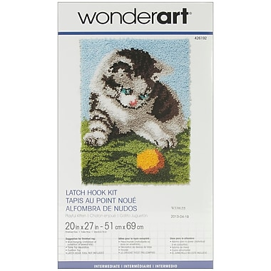 Wonderart Latch Hook Kit 20