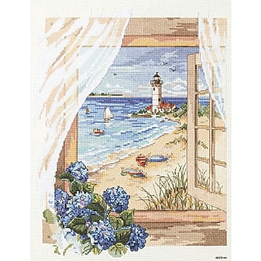 View From The Window Counted Cross Stitch Kit, 11