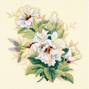 Hibiscus Floral Crewel Kit, 12