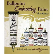 Aunt Martha's Ballpoint Paint Tubes, Country Colors