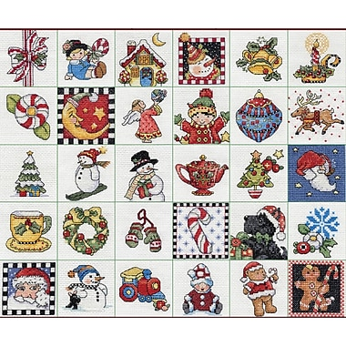 Mary Engelbreit Ornaments Counted Cross Stitch Kit, 2