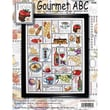 "Gourmet ABC Counted Cross Stitch Kit, 16""X20"" 14 Count"