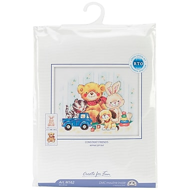 Toys Counted Cross Stitch Kit, 11-3/4