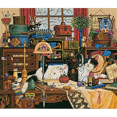 Gold Collection Maggie The Messmaker Counted Cross Stitch Ki, 14