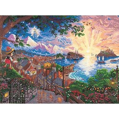Disney Dreams Collection By Thomas Kinkade Pinocchio