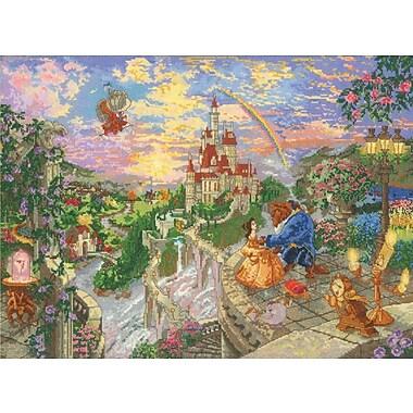 Disney Dreams Collection Thomas Kinkade Beauty & Beast Falling In Love