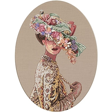 Gold Collection Victorian Elegance Counted Cross Stitch Kit, 11