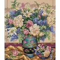 Gold Collection Oriental Splendor Counted Cross Stitch Kit, 12in.X14in. 18 Count