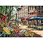 Gold Collection Paris Market Counted Cross Stitch Kit,