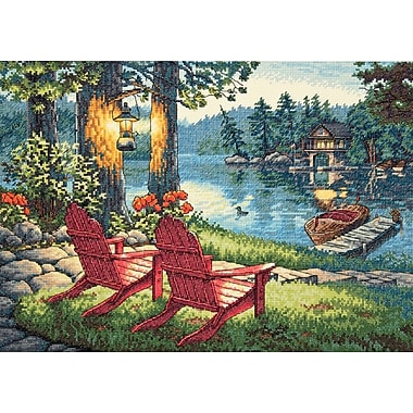 Gold Collection Twilight's Calm Counted Cross Stitch Kit, 16
