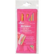 Getaway Soft Touch Crochet Hooks Gift Set,  Sizes C-J