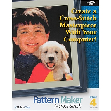 Pattern Maker Cross Stitch Software -Standard Version-Version 4.0