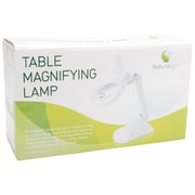 Naturalight Table Magnifying Lamp, White