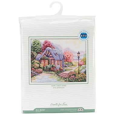 Home Sweet Home Counted Cross Stitch Kit, 13-1/2
