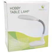 Naturalight Hobby Table Lamp, White