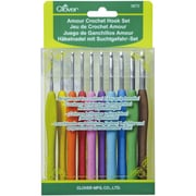 Amour Crochet Hook Set Assorted Sizes