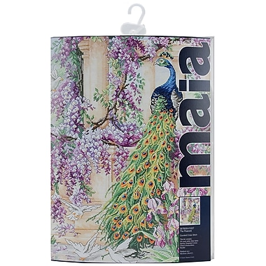 Anchor Maia® The Peacock Counted Cross Stitch Kit, 16