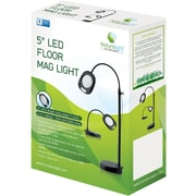 Naturalight LED 5 Floor Mag Light, Black