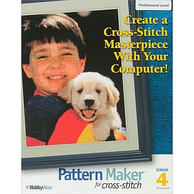 Pattern Maker Cross Stitch Software -Professional Version-Version 4.0