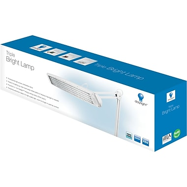 Triple Bright Lamp, White