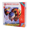 Mega Brands 200 Piece 3D Breakthrough Hot Air Balloons Puzzle