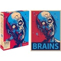 NMR Zombie Brains 1000 Piece Jigsaw Puzzle