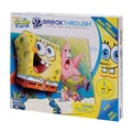 Mega Brands 100 Piece 3D Breakthrough Sponge Bob Skate Puzzle