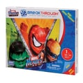 Mega Brands 100 Piece 3D Breakthrough Marvel Heroes Puzzle