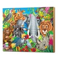 The Learning Journey 48 Piece Lift and Discover Jigsaw Puzzle - Animals of the World