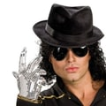 Rubies Michael Jackson Sequin Adult Glove in Silver