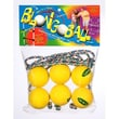 Blongo Family Fun Soft Ball Game Set; Yellow