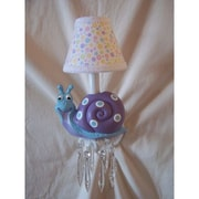 Silly Bear Snappy Snails Wall Sconce; Salt Water Taffy
