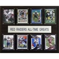 C & I Collectibles NCAA Football All-Time Greats Plaque; Texas Tech