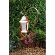 Dabmar Lighting 1 Light Hanging Lantern Path / Walkway / Area Light; Copper