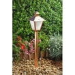 Dabmar Lighting 1 Light Post Lantern Path / Walkway / Area Light; Copper